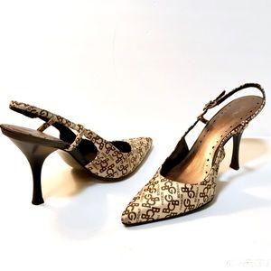 BCBG Signature slingback high heels